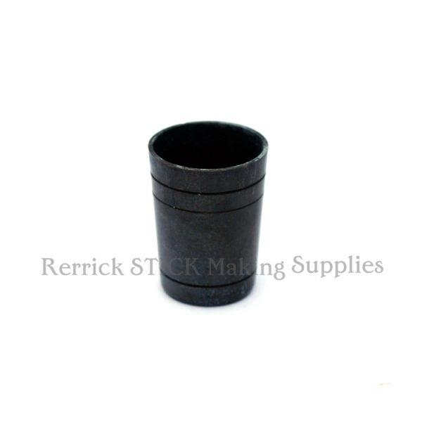 5 Walking Stick Ferrules Brass Ultra 17.5mm