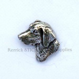 Pin Badge Pewter Labrador