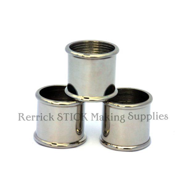 Beaded Nickel Silver Collars 19mm