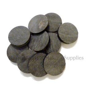 Ten Large Buffalo Horn Spacers 35mm