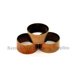 Small Brass Collars 25mm