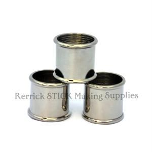 Beaded Nickel Silver Collars 24mm