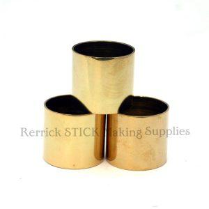 Plain Brass Collars 22mm