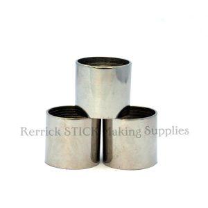 Plain Nickel Silver Collars 22mm