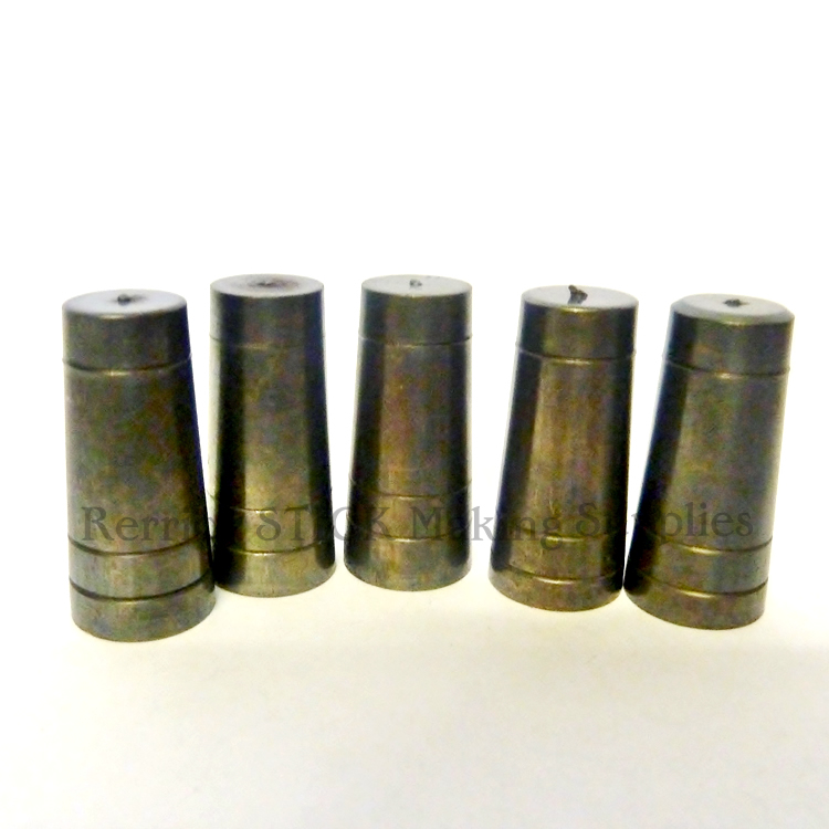 5 BRASS ULTRA FERRULES  ALL ONE PRODUCTION  20.5 MM FOR WALKING STICKS