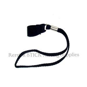 Black Braided Wrist Strap