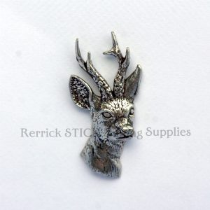 Pin Badge Pewter Roe Deer