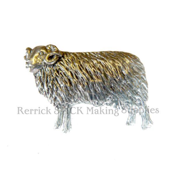 Pin Badge Pewter Ewe