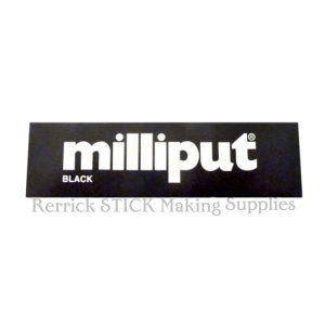 Milliput Black Epoxy Putty