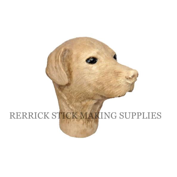 Brown Labrador Cast Resin Head