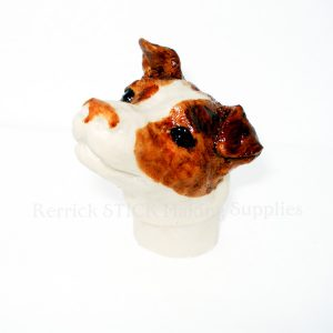 Jack Russell Cast Resin Head