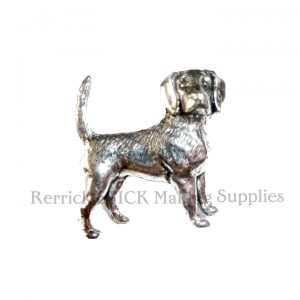 Pin Badge Pewter Beagle