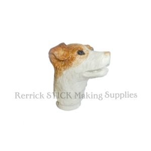 Small Jack Russell Cast Resin Head