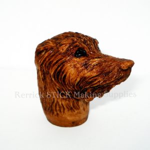 Wolf Hound Cast Resin Head