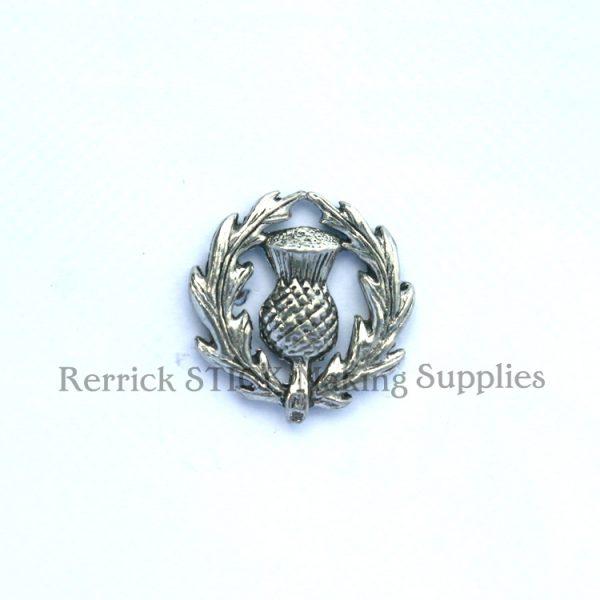 Pin Badge Pewter Scottish Thistle