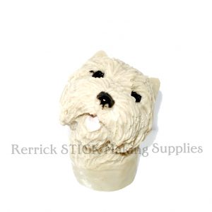 West Highland Terrier Cast Resin Head