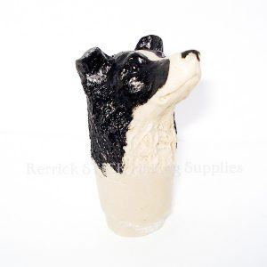 Border Collie Cast Resin Head