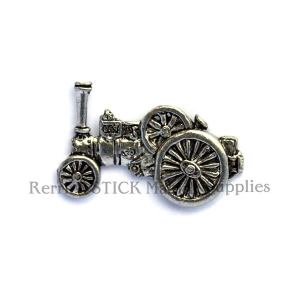 Pin Badge Pewter Traction Engine