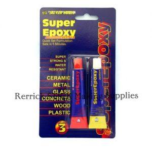 Three Packets Of Silverhook Glue