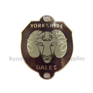 Walking Stick Badge - Yorkshire Dales
