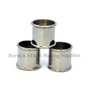 Beaded Nickel Silver Collars 25mm