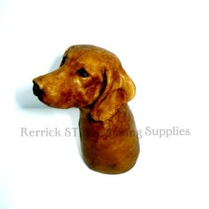 Weimaraner Cast Resin Head