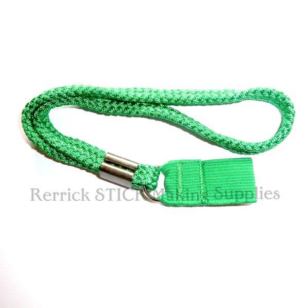 Green Braided Wrist Strap