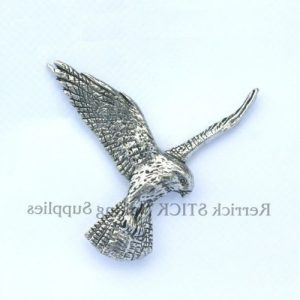Pin Badge Pewter Falcon