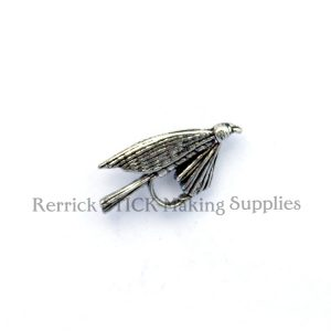 Pin Badge Pewter Fly Hook