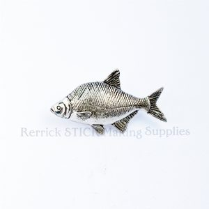 Pin Badge Pewter Bream