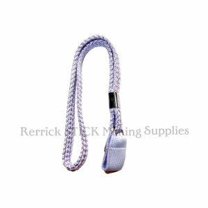 Lilac - Blue Braided Wrist Strap