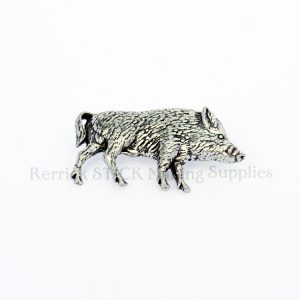 Pin Badge Pewter Boar