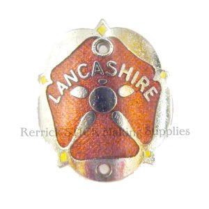 Walking Stick Badge - Lancashire Red Rose