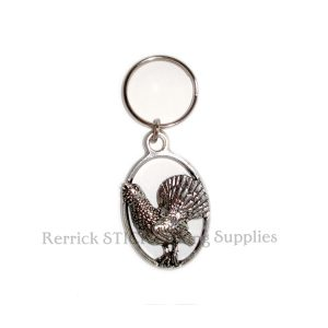 Keyring Pewter Capercaillie