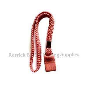 Pink Braided Wrist Strap